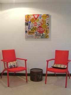 New furnitures and paintings in the house