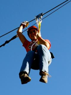 Many places to Zipline in the area