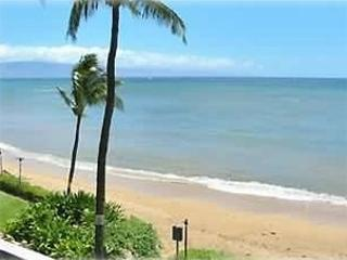 Beach in front of the Royal Kahana