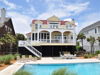 Oceanfront Home with Pool, Screen Porch, and Private Boardwalk to the Beach!, Isle of Palms