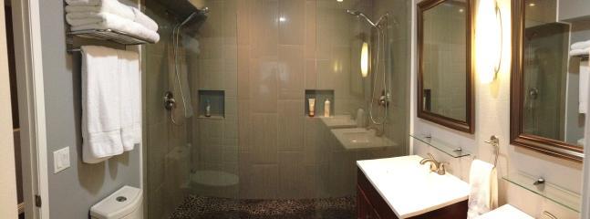 Panoramic of the bathroom