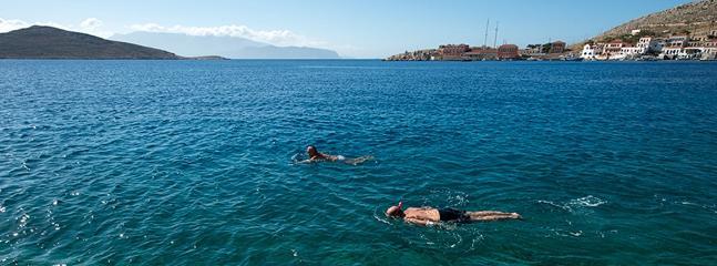 A 'sea pool' just a few meters away...