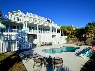 Oceanfront Home with Pool, Viewing Porches, and Private Boardwalk to Beach!
