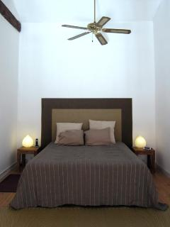 The upper level: The bedroom