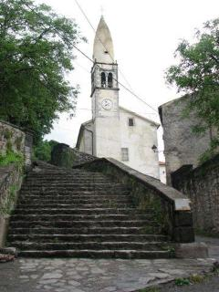 The church of St. Daniel
