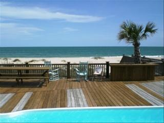 8 Bedroom 8 Bath Oceanfront with Private Pool, Ocean Isle Beach