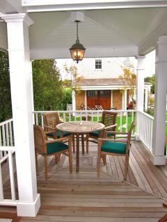 Outdoor card/breakfast table