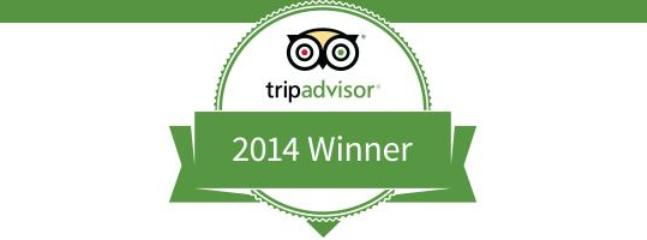 Tripadvisor 2014 Winner