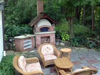 Terrace and Pizza Oven