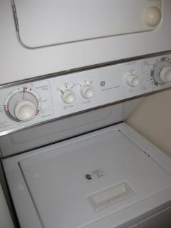 Your in-unit washer and dryer, how convenient!