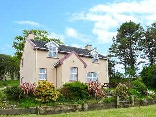 RIVERSIDE, detached, open fire, off road parking, front garden, in Glengarriff
