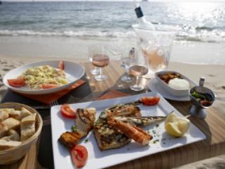 Dinner on the beach Bucerias