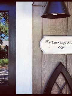 The Carriage House close up