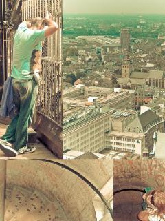 Check if you're in shape - climb up to the top of the Dom