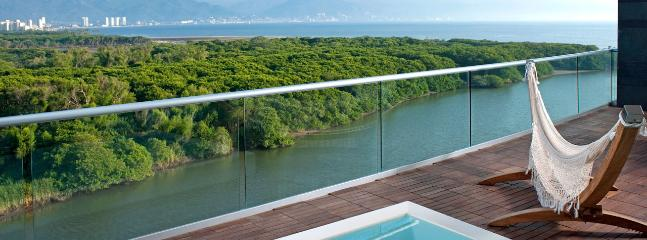 Deck View Over Bird Sactuary, Ameca River and Toward Puerto Vallarta