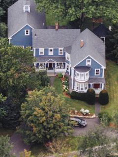 Sky View of Richards Lakin House