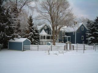 Back View of Richards Lakin House-Winter