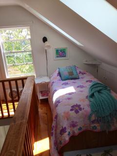 Loft suite twin bed