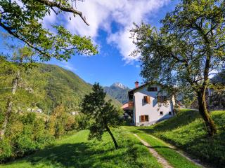 Apartment house in Triglav National Park, Zadlaz
