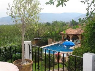 Balcony Suite with views of pool and sunset, Jocotepec
