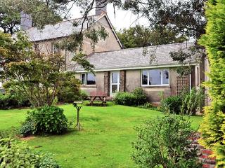ORCHARD END, attached to owner's farmhouse, fishing nearby, woodburner, in