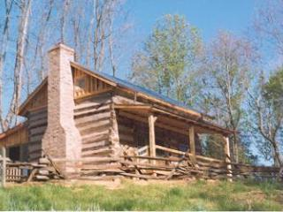 Highlands Cabin, 1775 a step Back to Early America