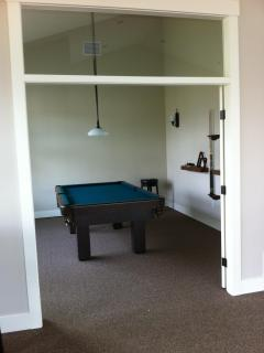 Pool Table in Clubhouse