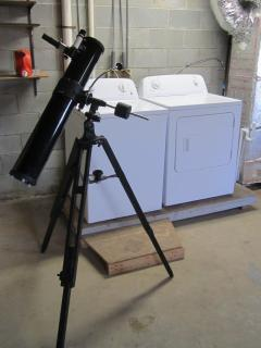 Use our 4.5 inch Celestron telescope to look at the planets