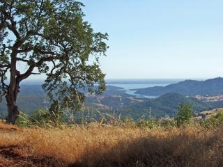 Enjoy the West facing view of the picturesque rolling hills and beautiful Folsom Lake.