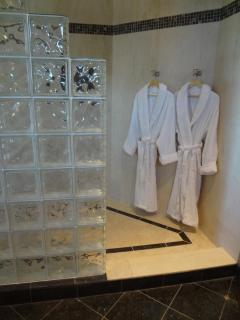 Spa robes and slippers are provided for your ultimate comfort during your stay.