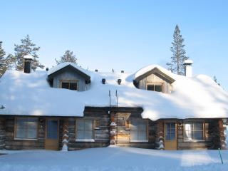NELIMAJAT B Log Bungalows Lapland
