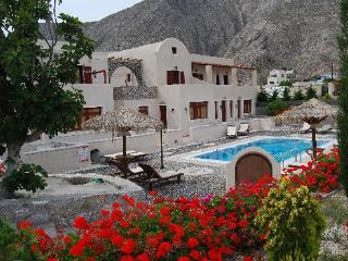 Santorini Villa die Vögel-Appartements für 2 mit kostenloser Parkplatz, Perissa