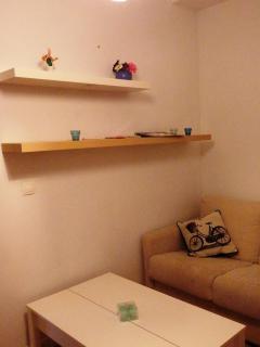 Cozy relaxing corner