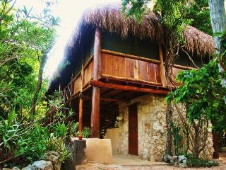 Akumal,Charming Palapa in the Jungle