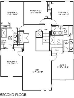 Floor Plan, Second Floor