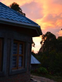 Sunset at the Chalet