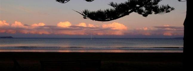 Sunrise at Orewa Beach