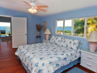 Master suite includes both ocean and jungle views.