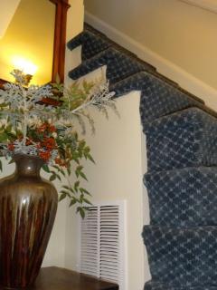 Original stairs into apartment