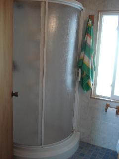 First bathroom (shower)