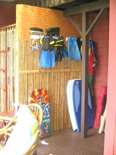 Beach and Snorkel Equipment