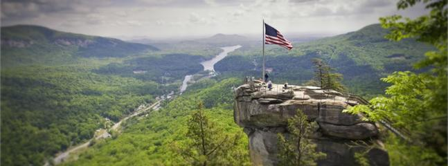 spend a day a Chimney Rock Park or...