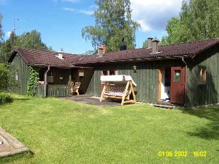 House in the Swedish woods surrounded by many lakes. 10 KM north of Malexander