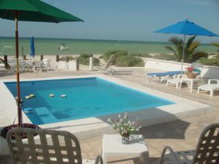 Uaymitun oceanfront w/pool, Chicxulub