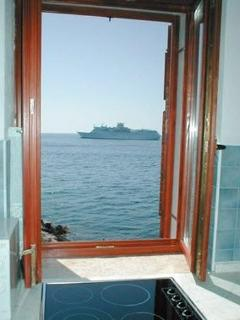 seaview from the kitchen