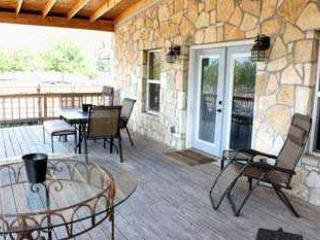 Watch the sunset off the covered porch overlooking the 40 acre pecan orchard