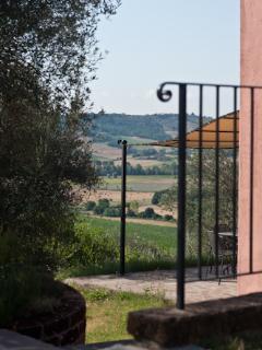 Il panorama - La Casetta - Villa Rosa
