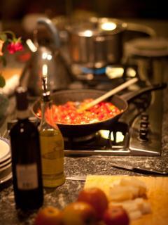 Villa Rosa - Il Gelsomino - La cucina