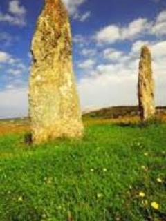 Standing stones on Anglesey