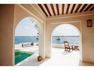 Forodhani House, on Shela Beach, in Lamu, Kenya, Isla de Lamu